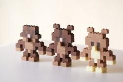 Čokoladne Lego kockice za igru i klopu