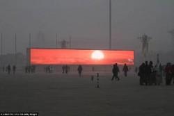 Televizijski izlazak Sunca u Pekingu