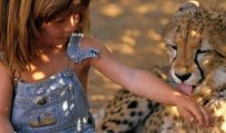 Djetinjstvo s afričkim divljim životinjama