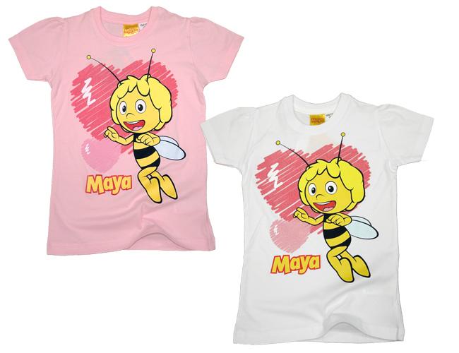 T-shirt roza i bijela