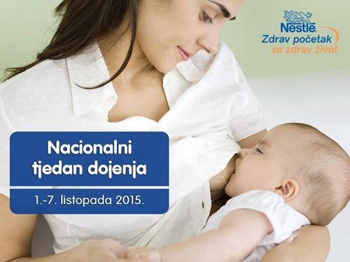 nacionalni tjedan dojenja nestle
