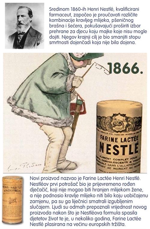Nestle - povijest